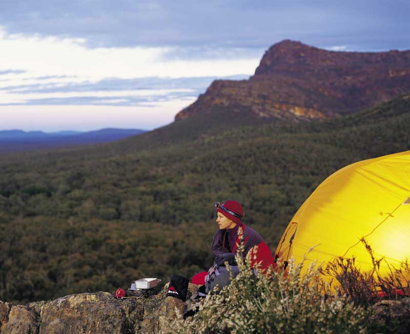 Camping in the Grampians