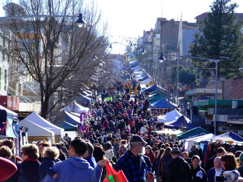 Katoomba's Winter Magic festival.
