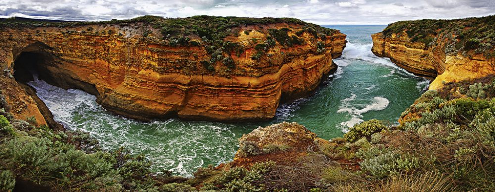 Loch Ard Gorge in Vic, by Phil McFadden