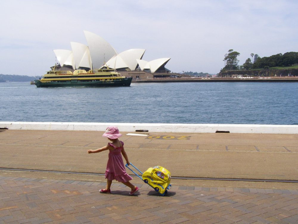 Circular Quay in Sydney, by Leah Speirs