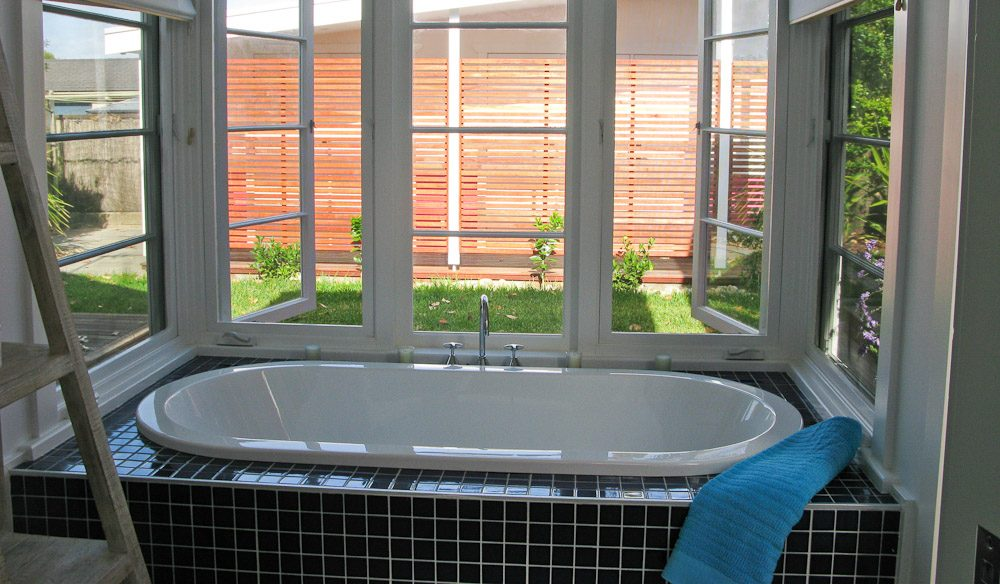 Relax in the spa whilst enjoying the sun