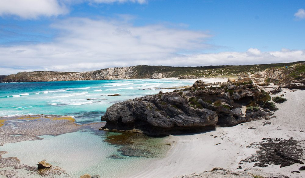 Island beach on Kangaroo Island