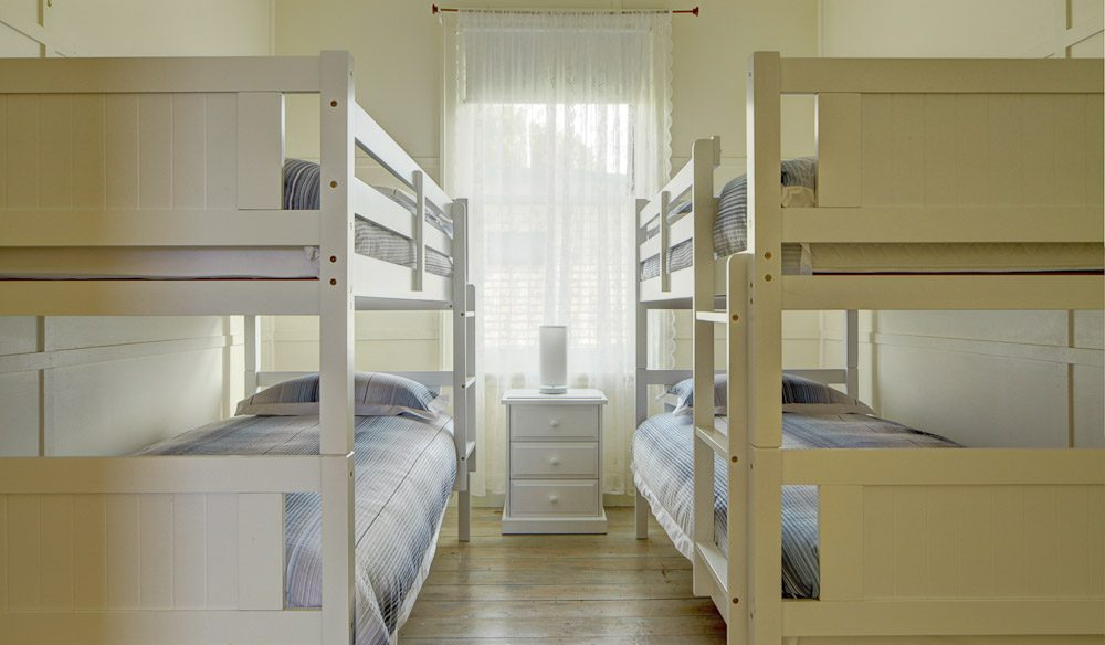 The kid's dormitory