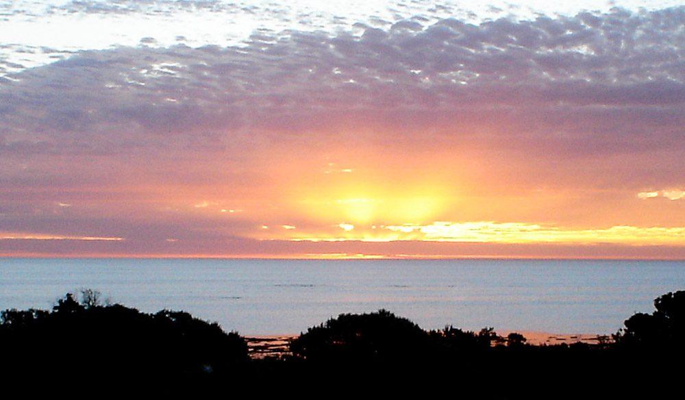 Windsong's amazing sunsets