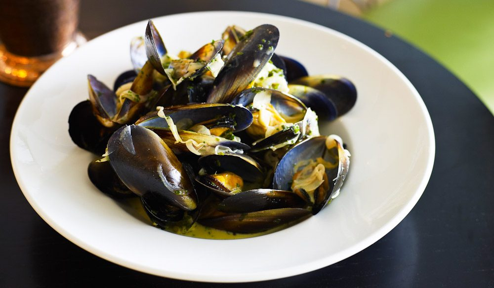 Mussels. Done properly.