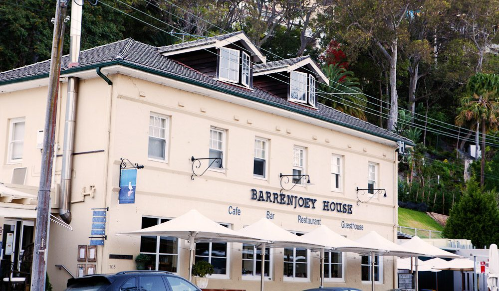 The Exterior of Barrenjoey House