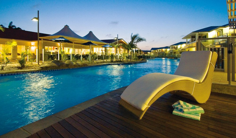 One of Port Stephens' best stays is Pacific Blue Resort