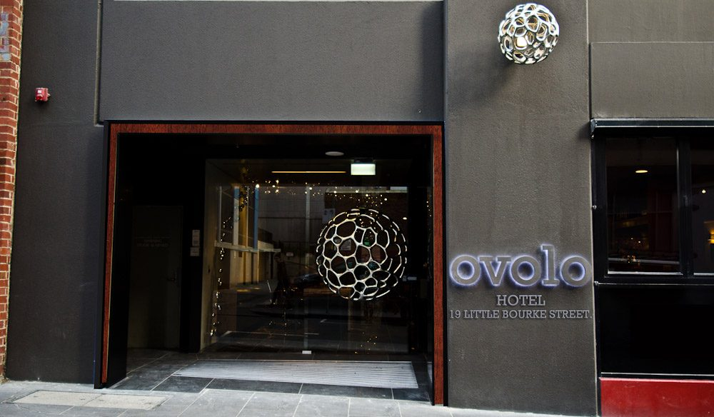 Ovolo Hotel in Melbourne's Little Bourke Street