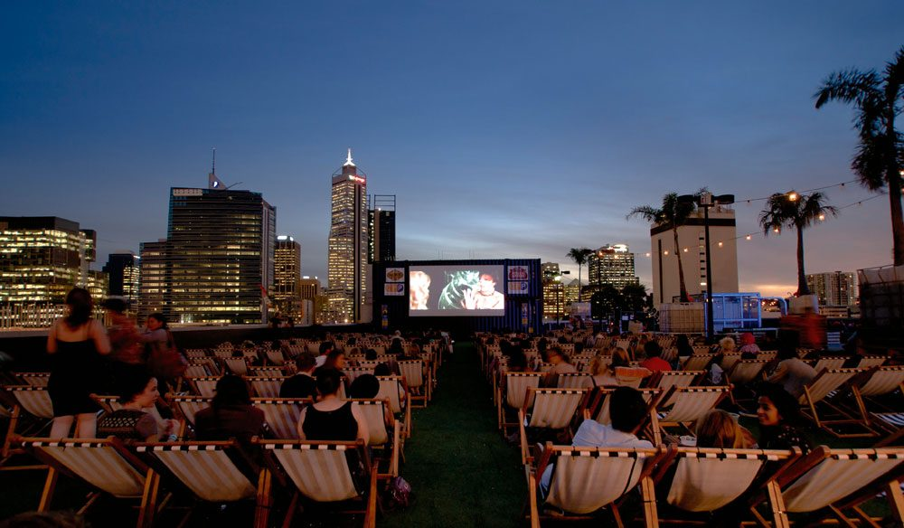 A rooftop of another kind - Perth's first and only rooftop cinema.