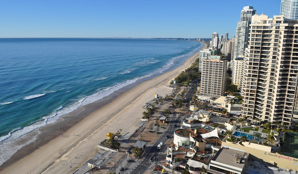 What a view - from Sea Temple Surfers Paradise