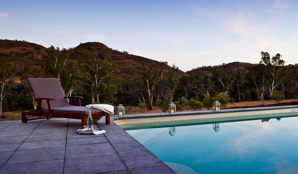 After a day of hiking, guests can retreat to this...