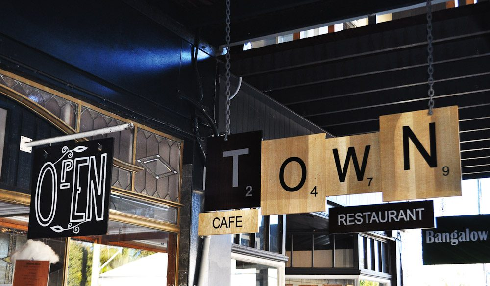 Award-winning Town restaurant, with casual Downtown downstairs and refined Uptown upstairs