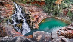 Fortescue falls and pool at Dales Gorge