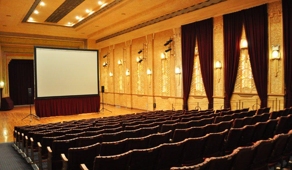The beautifully refurbished Roxy Theatre, Bingara.
