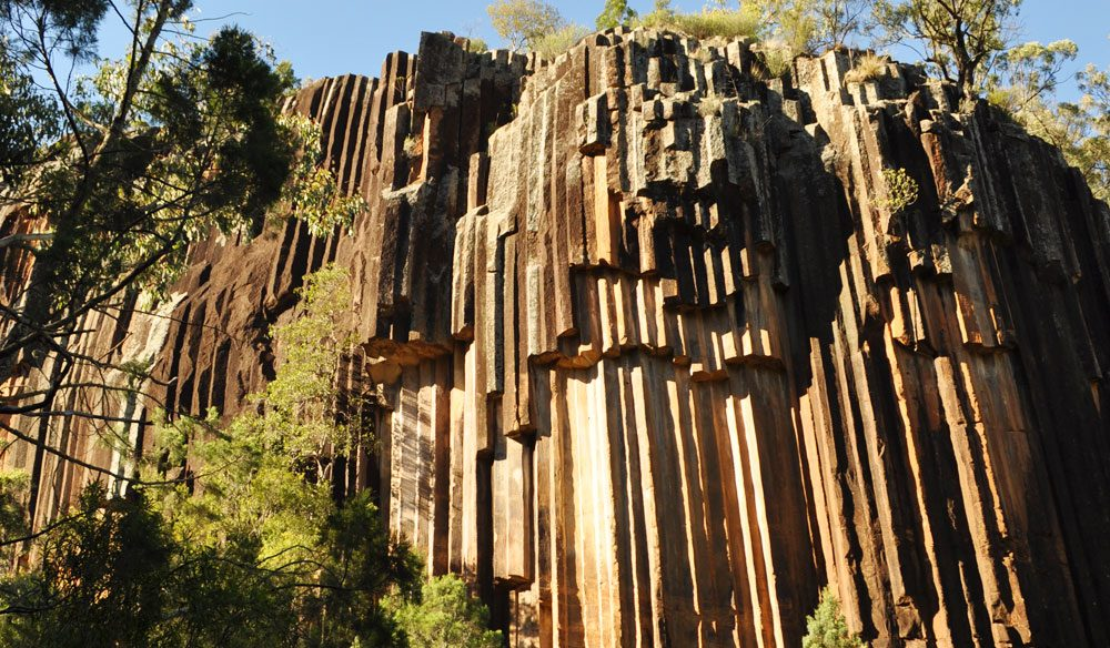 Sawn Rocks in  Kaputar National Park, near Narrabri.