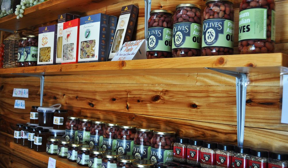 Olives of Beaulieu - among the region's unexpected local produce.
