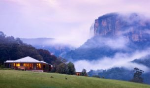 Emirates Wolgan Valley Resort & Spa in the NSW Blue Mountains - Image by Emirates Wolgan Valley Resort & Spa