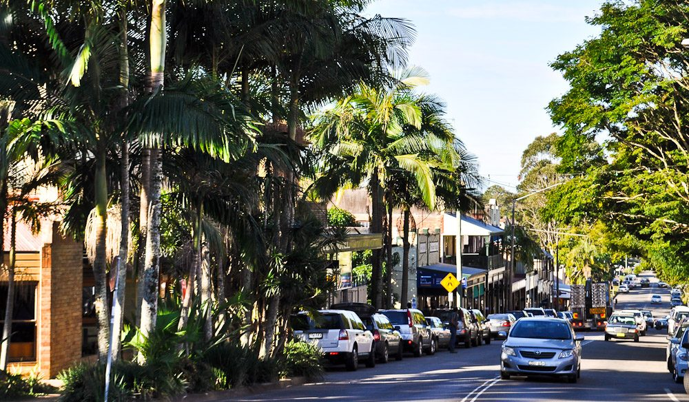Bangalow in NSW's Byron Bay hinterland