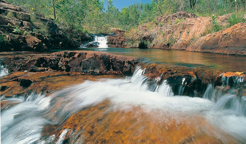 Buley Rock Pools in Litchfield National Park, NT