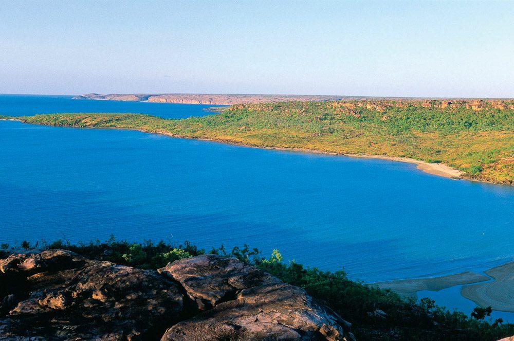 Faraway Bay on the northern reaches of The Kimberley Coastline, WA  - Image by Tourism WA