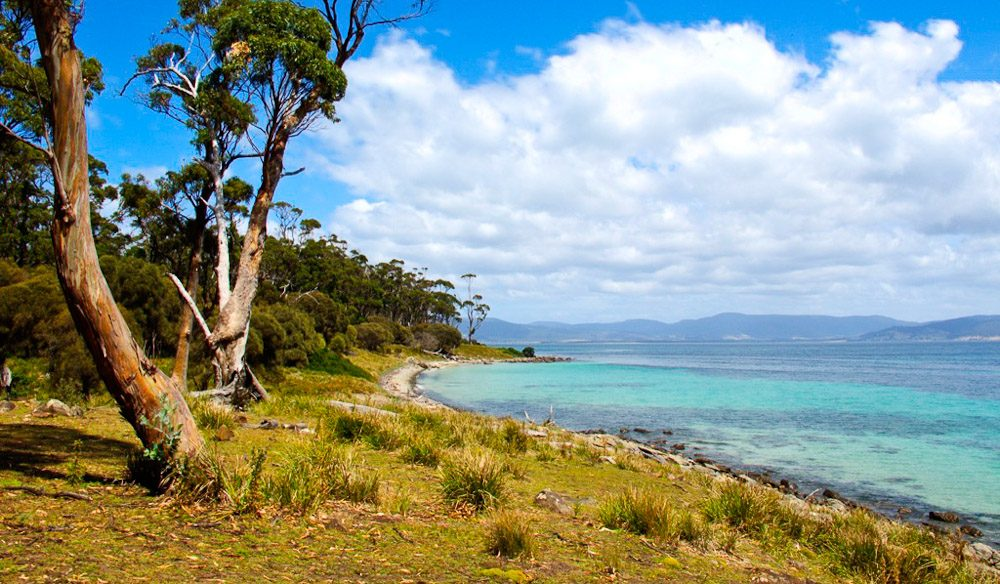 Maria Island, off the Tasmanian coast
