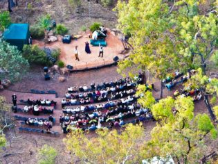 Opera in The Outback in Undara Volcanic National Park