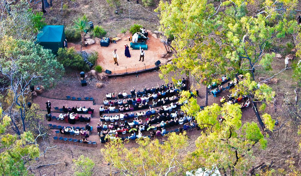 Opera in The Outback in Undara Volcanic National Park  - Image by Undara Experience