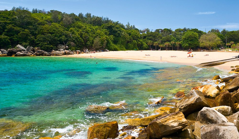 Shelley Beach Tucked Away In The North Sydney Suburb Of Manly Image By Gusha