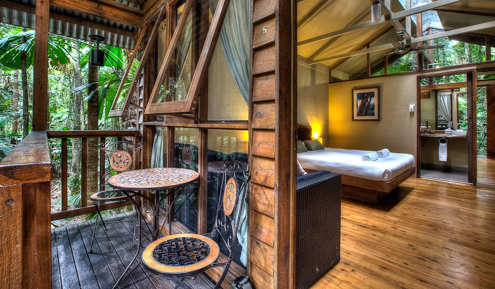 Inside the Daintree Wilderness Lodge, QLD