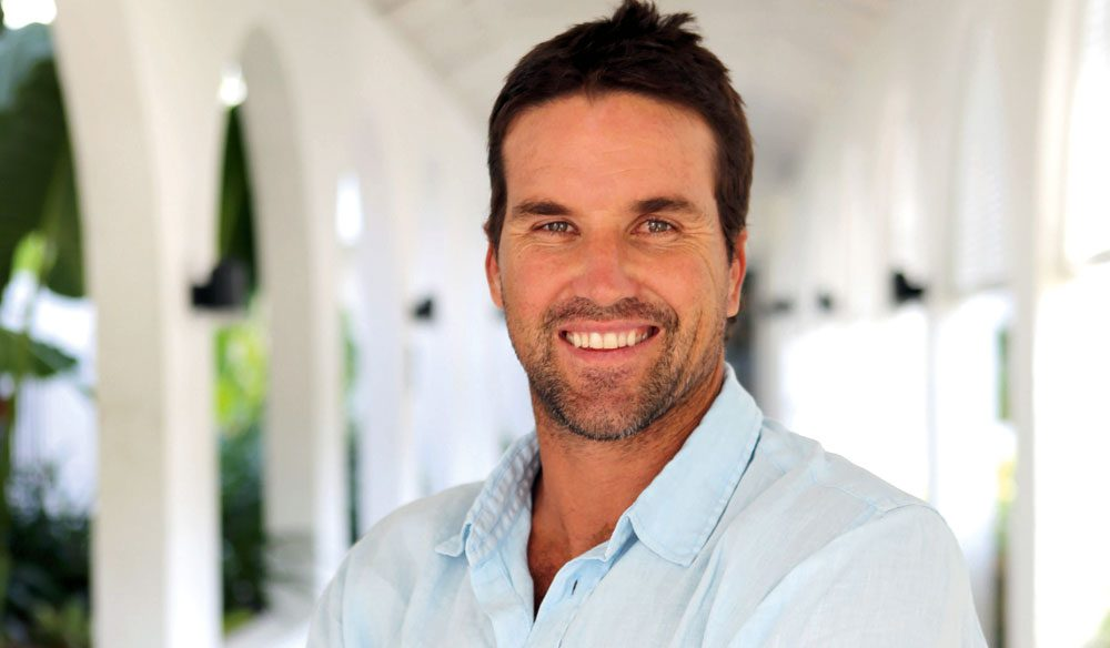 Pat Rafter - on our 100 Incredible Travel Secrets panel