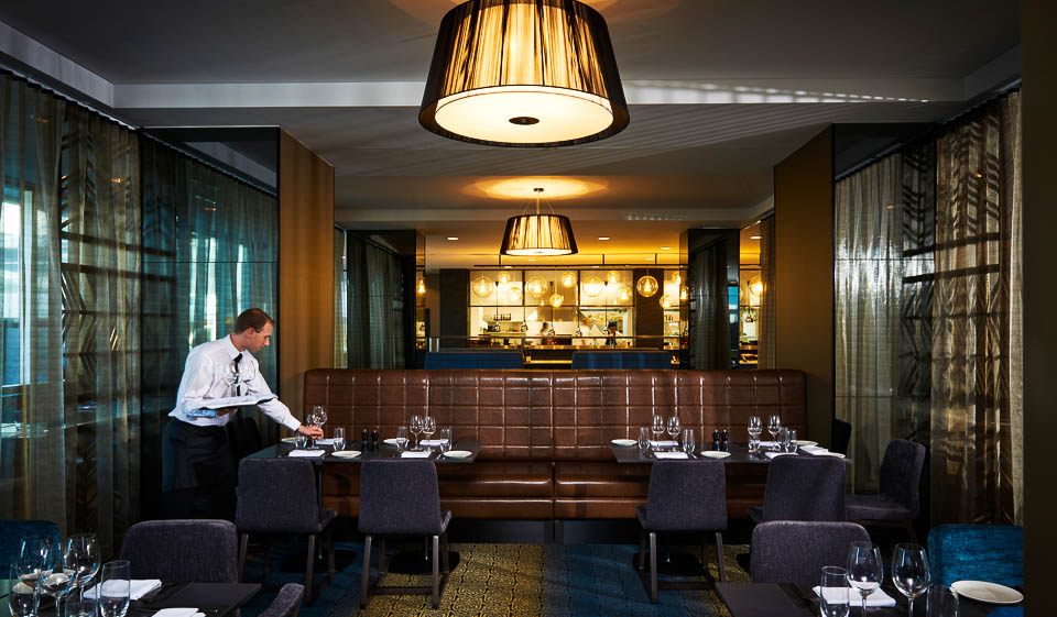 Dining room, Rydges Hotel, Sydney Airport