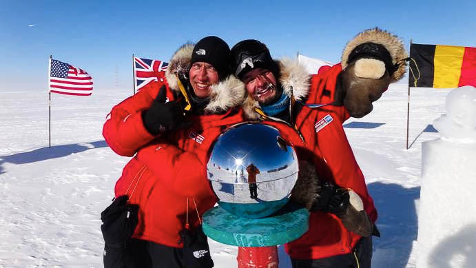 The adventurer's holy grail: The South Pole.