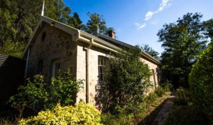 Old-world: Coachman's Cottage in the Adelaide Hills