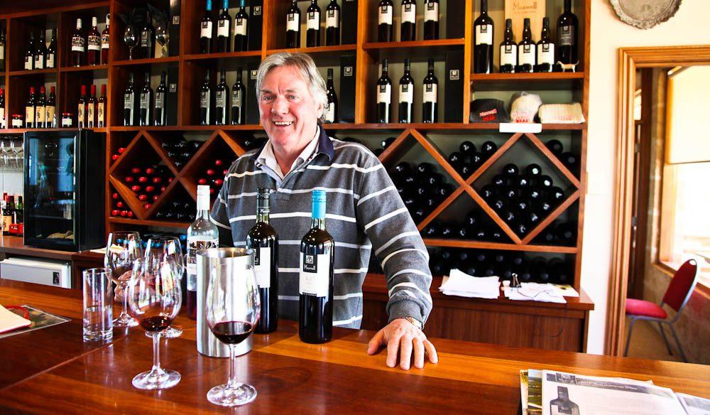 Winemaker Mark Maxwell, McLaren Vale