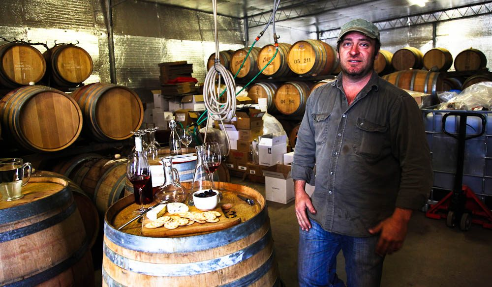 Winemaker Paul Petagna, McLaren Vale