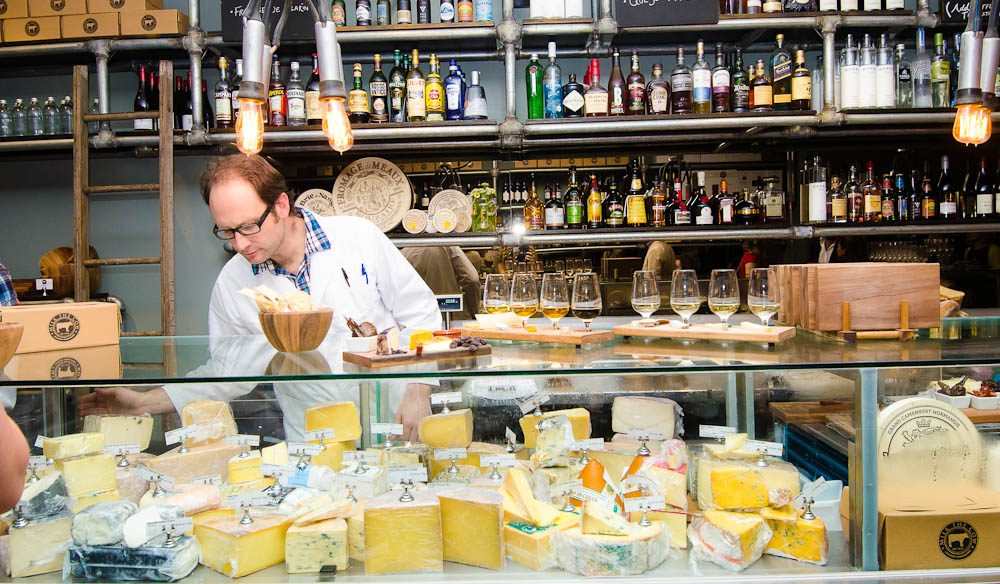 A selection of cheeses to please: Milk The Cow, Melbourne