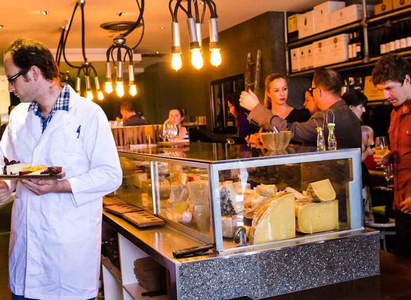 Cheese and wine tasting: Milk The Cow, Melbourne
