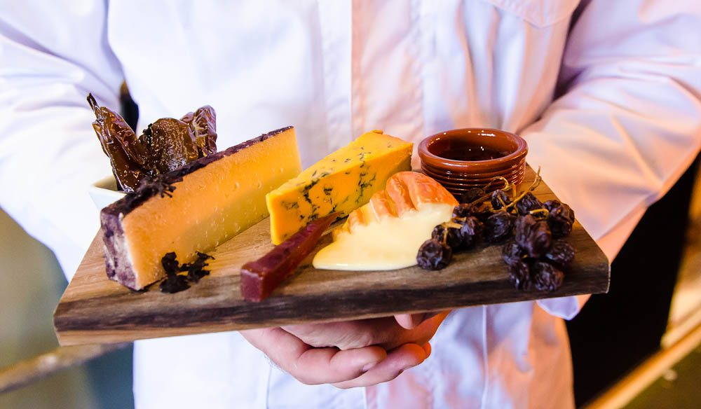 Cheese platter: Milk The Cow, Melbourne