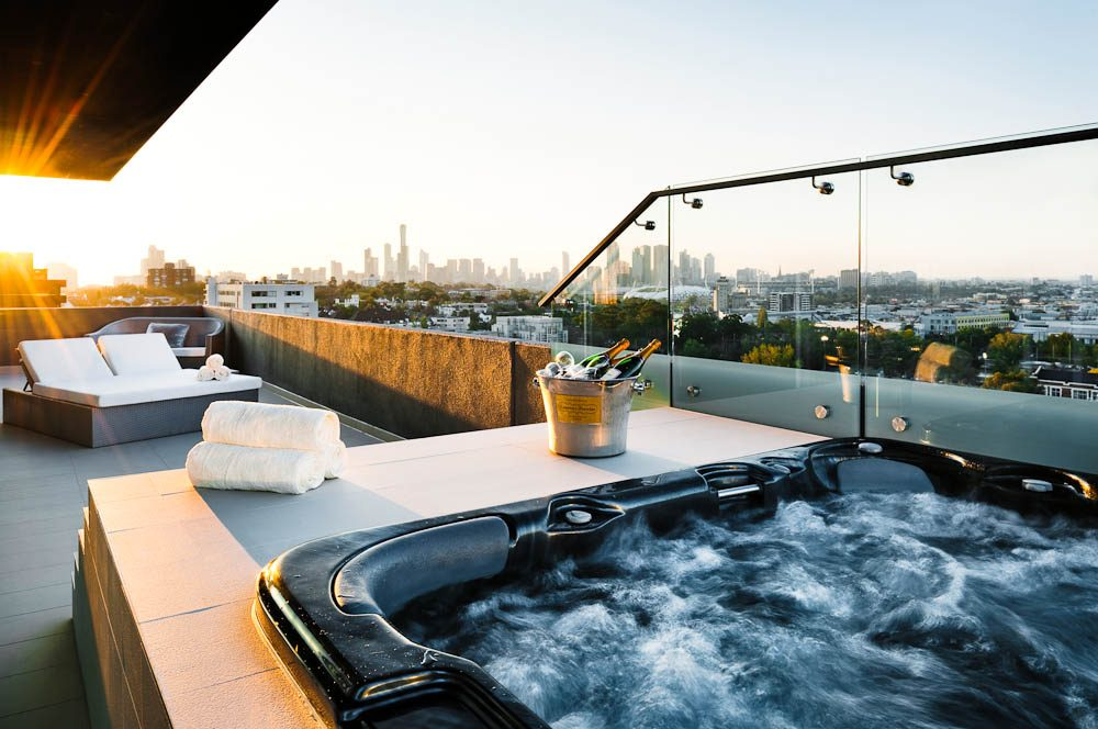 The View Olsen Penthouse Melbourne Australian Traveller