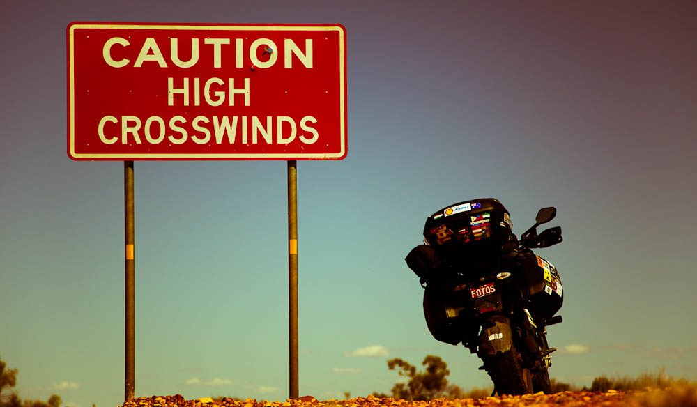 Sunny loves road signs in the middle of nowhere (Photo: Sunny Gajjar)