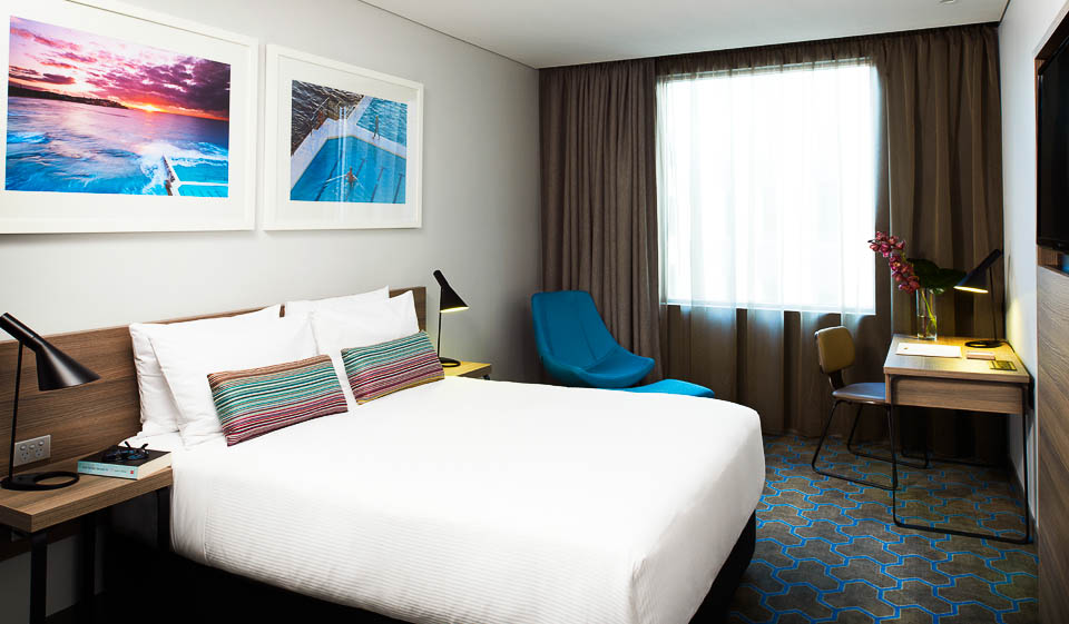 Superior Queen room, Rydges Hotel, Sydney Airport