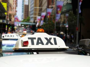 Remember, taxi changeover time is 3 o'clock - am and pm
