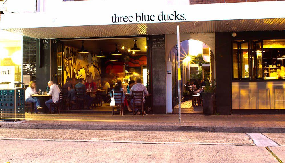 Three Blue Ducks, Bondi