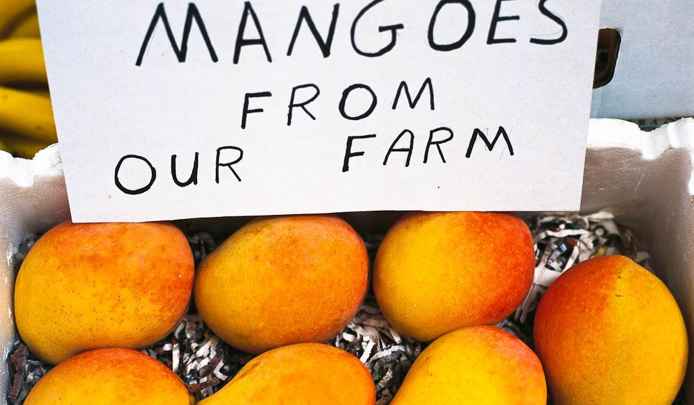 Mangoes, Eumundi Markets
