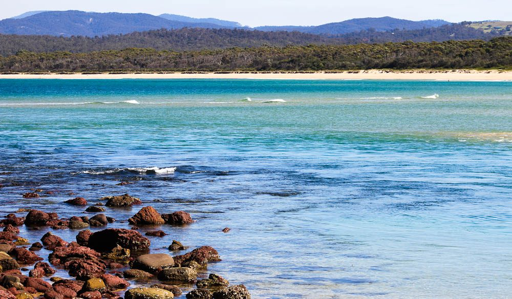 Merimbula's Bar  Beach on NSW's Sapphire Coast