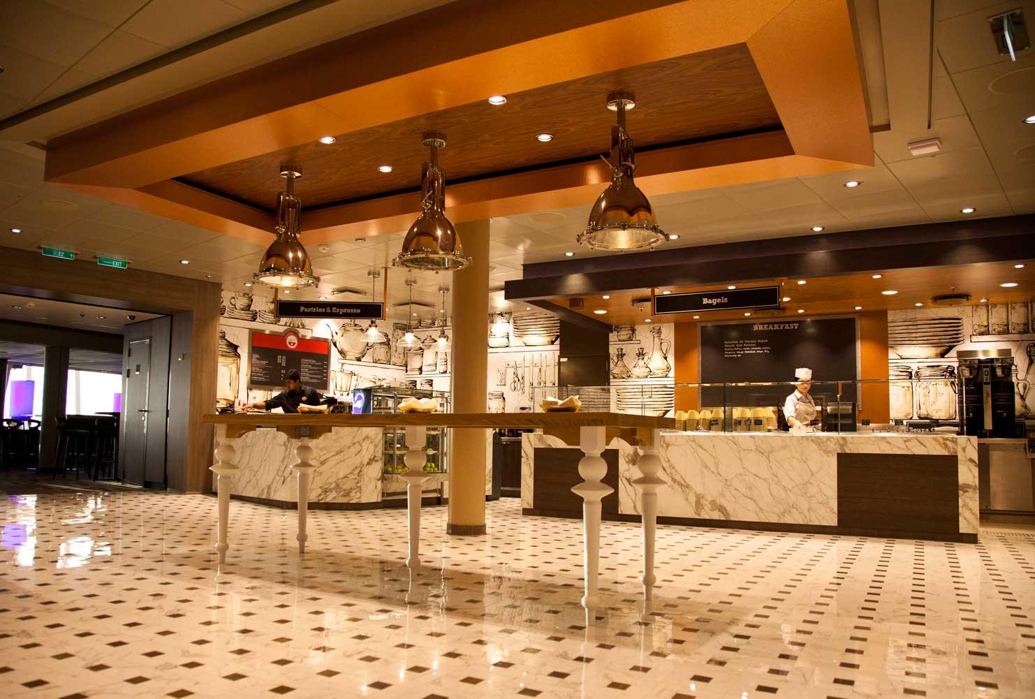 Cafe@270, Ovation of the Seas, Royal Caribbean Cruise Line