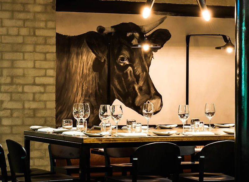 Pete Evans' Little Hunter on Melbourne's Little Hastings Street is all about the beef.
