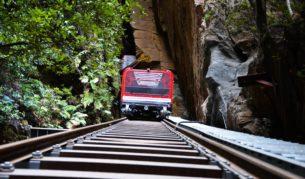 Blue Mountain's favourite The Scenic railway has had a major zhush.