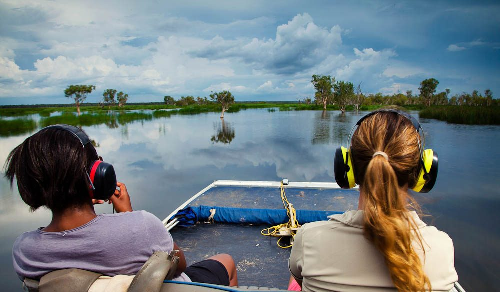 Take a glide on the waters around Kakadu