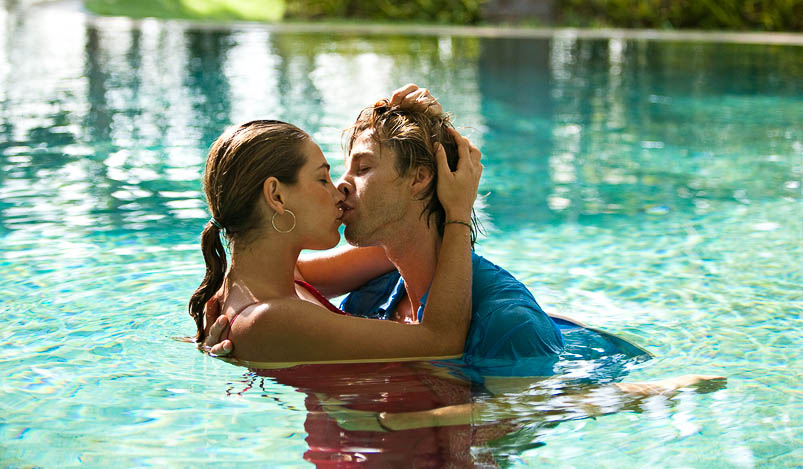 The pool: In at number three on the most common places for single wedding guests to hook up